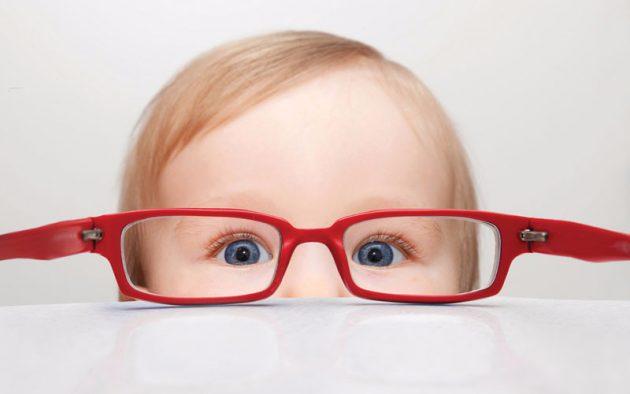 Миопия слабой степени часто встречается у детей
