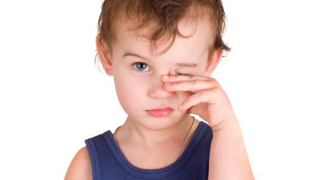 Несоблюдение правил гигиены может привести к конъюнктивиту у детей