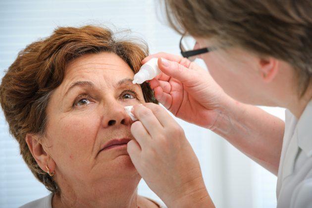 помощь при приступе глаукомы