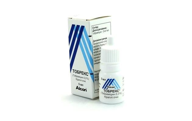 Тобрекс - средство от ячменя, разрешенное беременным