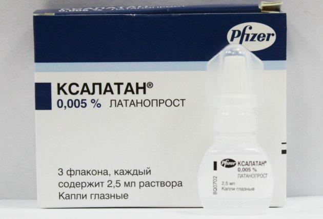 Препарат для лечения глаукомы
