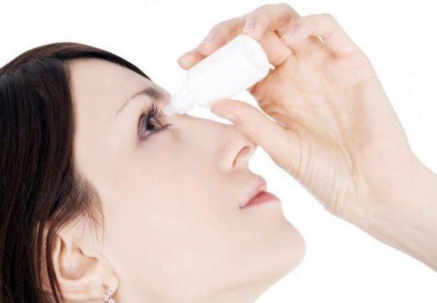 во время ношения ночных линз рекомендованы увлажняющие глазные капли