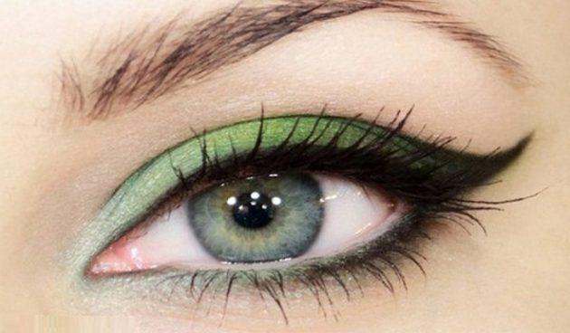 Как изменить цвет глаз с помощью макияжа