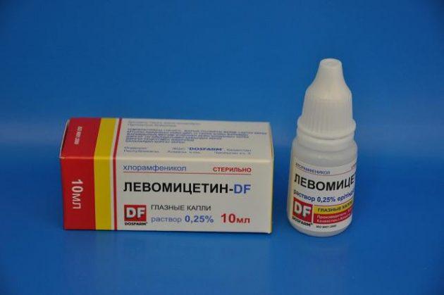 Капли для лечения ячменя при беременности