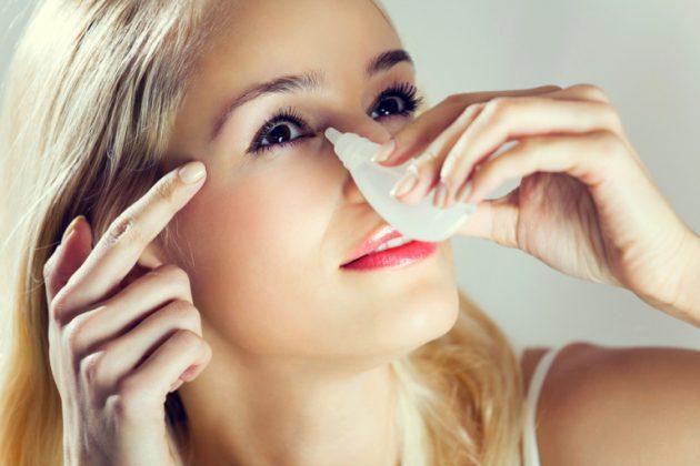 Препарат искусственной слезы поможет, если не снимается линза