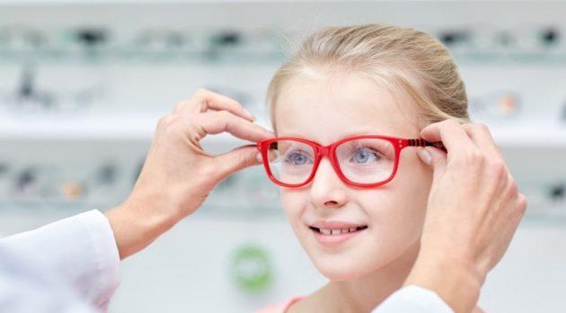 Очковая коррекция зрения у ребенка