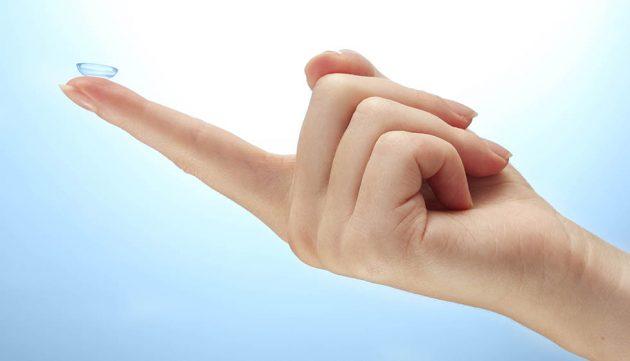После удаления халязиона лазером рекомендовано ношение мягких контактных линз