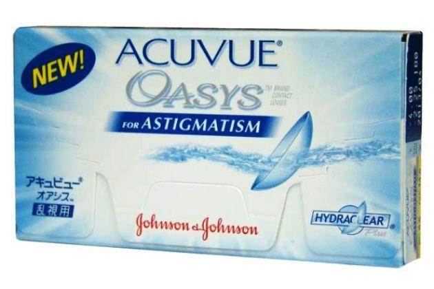 линзы oasys acuvue