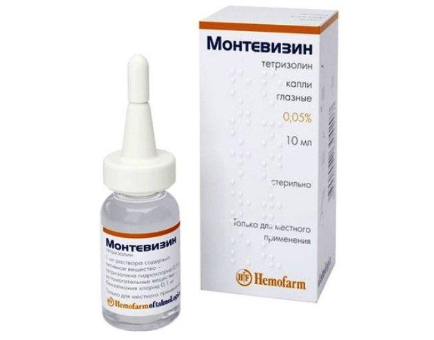 глазные капли монтевизин