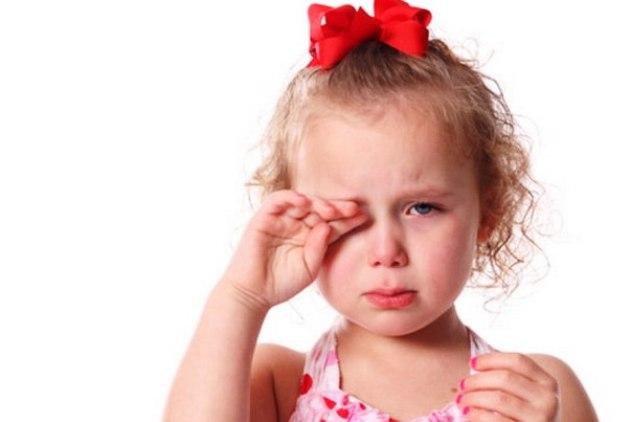 профилактика красных глаз у ребенка