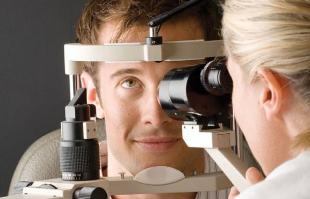 белые точки в глазу лечит офтальмолог