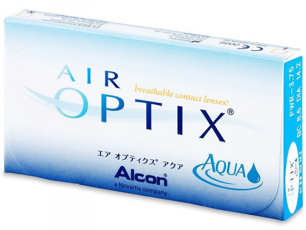 линзы air optix