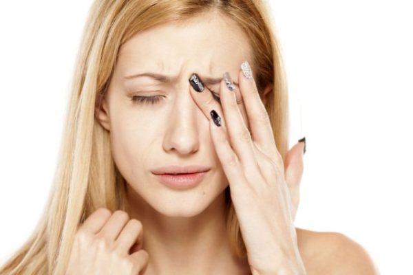 жжение в глазах - побочный эффект атропина