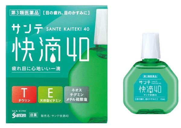 японские капли Sante Kaiteki 40