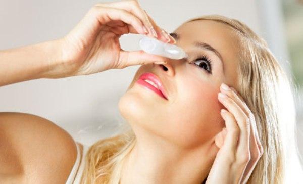 закапывание капель в глаза с гидрокортизоном