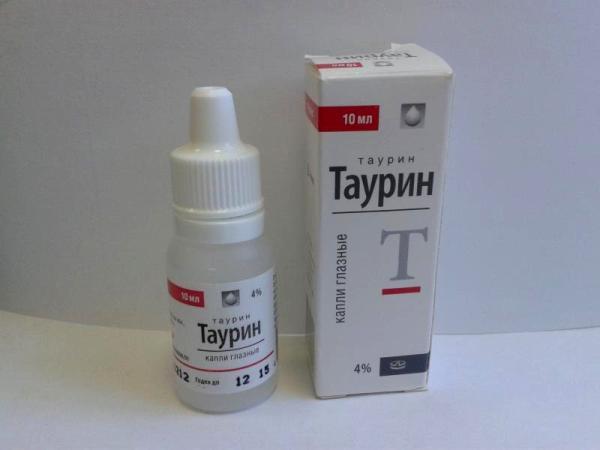 таурин - капли для глаз от усталости