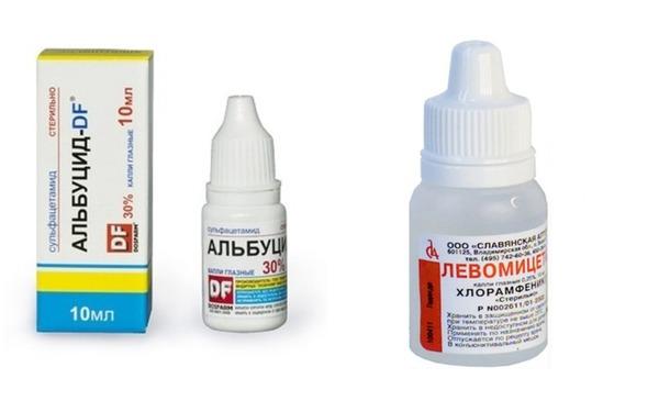 Альбуцид или Левомицетин выписывают для борьбы с инфекционными процессами бактериальной природы.
